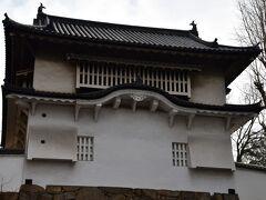 岡山城 西丸西手櫓。 岡山城の数少ない現存建築。