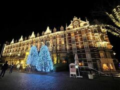 ホテルヨーロッパ。 ハウステンボス直営ホテルです。 多分、パーク内で一番高級?