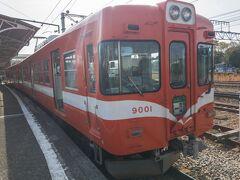 2021.3.20 (土)  今日は久しぶりに岳南電車に乗ってみました。 吉原駅から東海道線に乗って東京方面に向かいます。