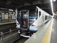 品川駅に到着。今回は品川駅で下車します。  品川駅で降りたのは、乗り換えのためでもありますが、もう一つあります。  熱海~品川間はぎりぎり100㎞以内、熱海~東京間は100㎞を超えてしまいます。100kmを超える超えないで特急料金が違ってきます。  東京~熱海は1580円、品川~熱海は1020円なので(指定席特急料金)、踊り子号の乗り継ぎ割引が廃止された今、安く乗れるのはこの方法ですね~