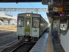 ではここから磐越東線で郡山に向かう。 仙台支社乗りつぶしはきつそうだな