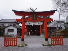 秩父今宮神社にやってきました。三峯さんから約1時間でした。