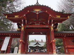 次は秩父三社の一つ秩父神社です。 本殿の彫刻が有名。