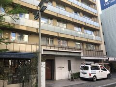 昨夜の宿です  ホテルガーデンスクエア静岡