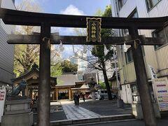 散策開始  途中で見かけた小梳神社  「おぐしじんじゃ」と読みます