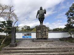 駿府城公園 徳川家康公の像