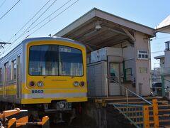 次はあのハンバーグを独り占めか、それともメン・コロ(メンチカツとコロッケ)か... と妄想しているうちに、岩原駅へ到着。