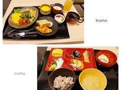 三井ガーデンホテル京都駅前 / 茶季 https://www.gardenhotels.co.jp/kyoto-station/access  今日は駅からほど近い、これまた新しい三井ガーデンホテル京都駅前にしてみました。 地下1階にある茶季というレストランで宿泊者以外でも利用可能、1階のフロントで精算してチケットをもらいましょ。1人1980円なり。 でも、ちょっと前まではビュッフェも閉鎖されていたの。コロナの影響はホントに醜い...  ビュッフェは危険~元取り虫が出ちゃって困る(爆)もちろんお料理を取る際にはマスク着用、ビニール手袋も必須です。 1回目は洋食、2回目は和食にしてみた~こんなに食べるんか?って?はい、朝から元気です( *´艸`) 抹茶プリンはイマイチだったけど、その他はどれも美味しかったです♪汲み上げ豆腐とかほんのり温かくて、焼き鮭もしっとりしてて美味しかった~ご馳走様でした!!