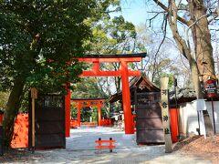 河合神社 https://www.shimogamo-jinja.or.jp/bireikigan/  糺の森に入るとすぐのところにある、下鴨神社の摂社で女性守護として信仰を集める河合神社。
