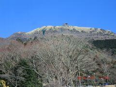 箱根園:ここから箱根駒ヶ岳へRWで。