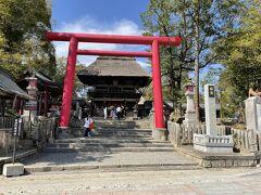 青井阿蘇神社に参拝