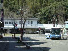 人吉駅はきれいに残っていた