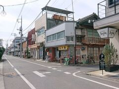 それから、桐生駅の方へ戻り、映画のロケ地をチェック。 永楽町にある中華屋さん。
