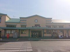 1時間に一本しかない両毛線に乗って、二駅で「足利」、栃木県に到着。