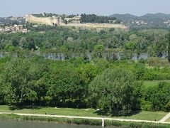 先ほど法王庁からも見えたサンタンドレ要塞の全景を見ることができる。