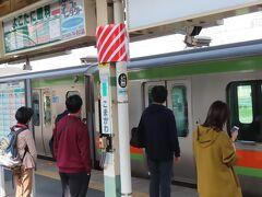 高麗川駅 ここで、下車して、高崎行きの列車に乗り換えます。 八王子、高崎間は直通の列車が無く、高麗川駅で乗り換えます。
