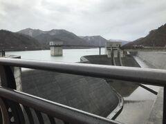 飯坂温泉の後、国盗りの鷹狩りで茂庭っ湖の摺上川ダムへ。