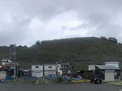 さて、朝食後レンタカーを走らせてやってきたのは、宇和島市遊子水荷浦の段々畑。
