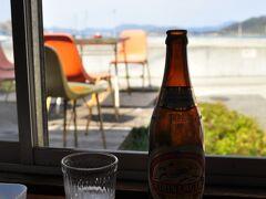 こちらで昼食。 ビールとシーフードカレーを頂きました。グッビ