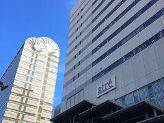 恵比寿を出る前にもう1か所、恵比寿駅の駅ビルの屋上にも行ってきました。 7F建ての建物の屋上で、高さはそれほどありません。