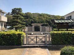 清寧天皇陵、あまり大きくはありませんが、天皇陵で宮内庁が管理です