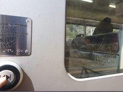 電車が止まった。  ボタンを押してドアを開けることを聞いている。  しかしボタンを押しても開かない。  焦って何度も押しまくると、なんとなく開いた。