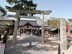 岡﨑城内にある「龍城神社」。