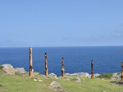 島の東側,東崎は,晴れていれば西表島を見ることができます.