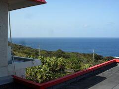 リードパークリゾート八丈島の客室からの眺め。