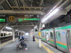 沼津始発の電車で一気に東京まで戻ります。