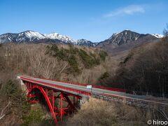 野辺山は流石に遠く、仕事に間に合わなくなりそうなので、引き返します。 再び東沢大橋を渡って帰宅