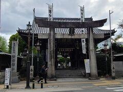博多祇園山笠で有名な櫛田神社です。