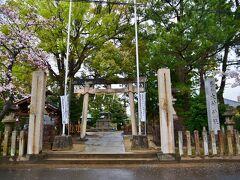 14:50 尾張国一の宮「大神神社」に到着 名古屋マリオットより50分位かな