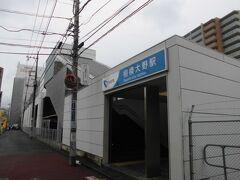 小田急線相模大野駅。この近くを巡りました。