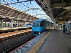 11時少し前に経堂駅に着きました。約2時間の電車の旅です。 小田急線の大きな駅です。