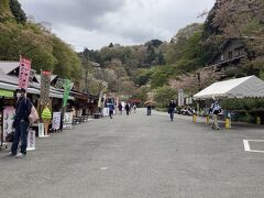 時間節約のため橿原神宮前から特急に乗り変えて吉野到着