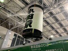 小田原駅に着いて鈴廣のかまぼこをお土産に購入し