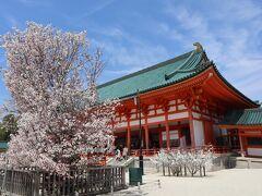 平安神宮 右近の橘 左近の桜