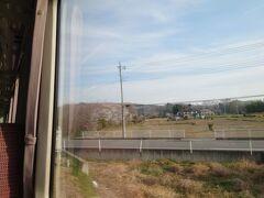 ★7:45 往路は安定の八高線キハ110で高崎入り。