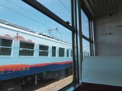 富山地鉄の最高速度は時速95キロですが、駅がとても多いので普通電車だとなかなか速度が出ないのです。