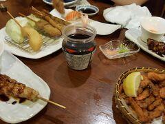 トンロー葉隠れ  喜多郎寿しも美味しいし安い。写真忘れた。