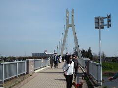 こちらは少し高い場所にある橋です。