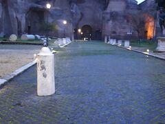 ディオクレティアヌスの浴場跡。  ローマには皇帝のつくらせた浴場跡がたくさんあります。  こちらにはサウナなどもあったようです。