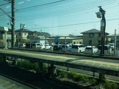 @新白岡駅  宇都宮線は、住宅街を抜けながらひたすら北へ・・・