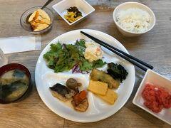 ホテルアクティブ!の朝食ビュッフェ