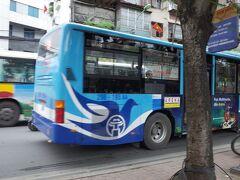 ハノイの都市交通は、バスです。