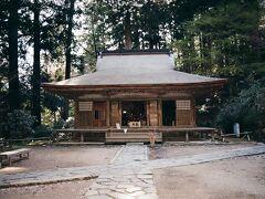 室生寺弥勒堂。