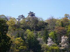 北の山奥の越前大野城。でもここもほぼおしまいです。