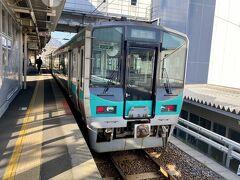 青春18きっぷ、5日目。 無事に使い切った。  敦賀から小浜線に乗ります。