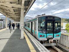 東舞鶴駅に到着~  敦賀7:49-東舞鶴9:44